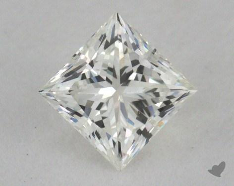 0.53 Carat I-SI1 Ideal Cut Princess Diamond
