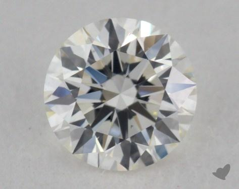 0.51 Carat I-VS2 Excellent Cut Round Diamond