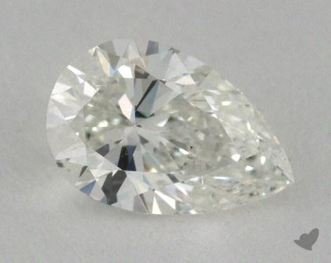 0.70 Carat F-SI1 Pear Shape Diamond