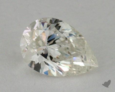 0.70 Carat J-SI2 Pear Cut Diamond