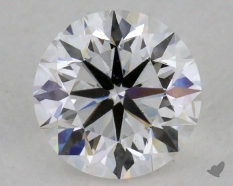0.70 Carat F-SI1 Very Good Cut Round Diamond