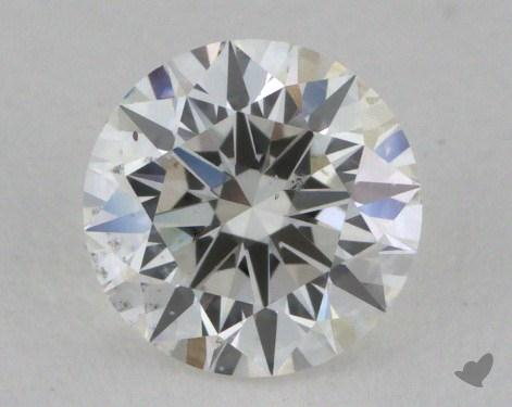 0.60 Carat F-SI1 Excellent Cut Round Diamond