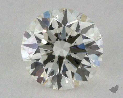 0.50 Carat J-VS1 Very Good Cut Round Diamond