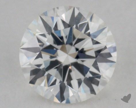 0.52 Carat F-VVS2 Excellent Cut Round Diamond
