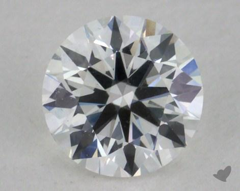 0.57 Carat F-VVS2 Excellent Cut Round Diamond
