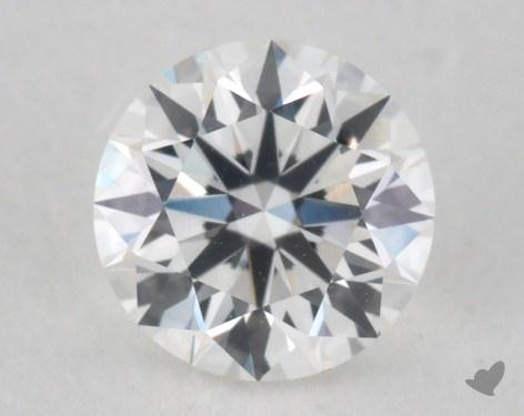 0.59 Carat F-VVS2 Excellent Cut Round Diamond