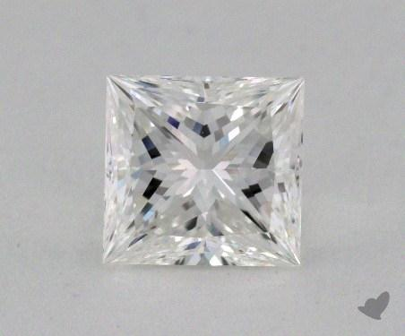 1.07 Carat F-VVS1 Ideal Cut Princess Diamond