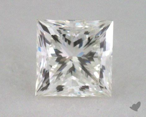 0.60 Carat H-VS2 Good Cut Princess Diamond