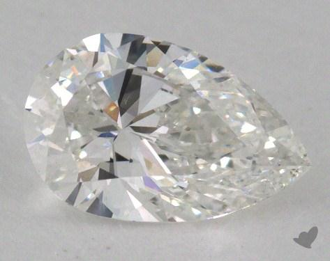 1.01 Carat F-SI1 Pear Shaped  Diamond