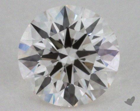 0.57 Carat G-VVS2 Excellent Cut Round Diamond