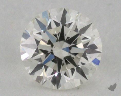 0.35 Carat I-SI1 Excellent Cut Round Diamond