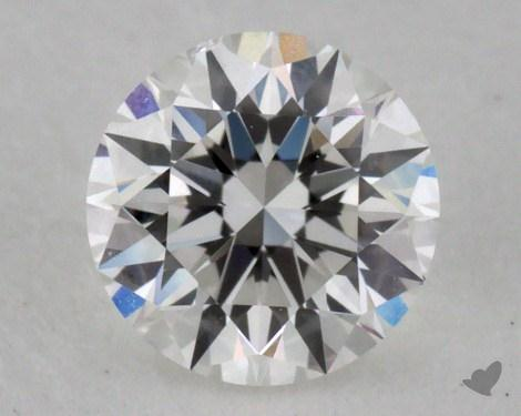 0.40 Carat F-SI1 Very Good Cut Round Diamond