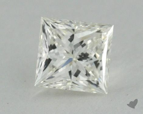0.52 Carat K-VVS1 Ideal Cut Princess Diamond