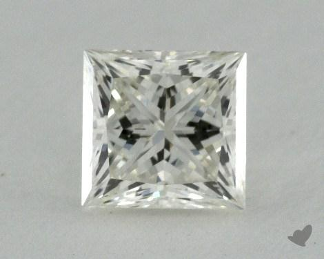 0.51 Carat K-VVS2 Princess Cut  Diamond