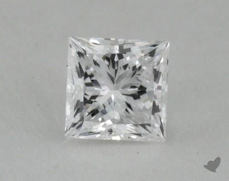 0.52 Carat D-VS1 Ideal Cut Princess Diamond