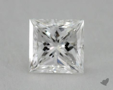 0.51 Carat G-VS2 Ideal Cut Princess Diamond