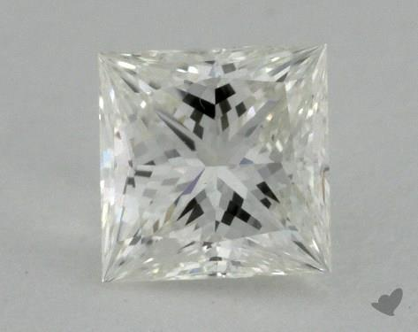 0.51 Carat I-VVS2 Ideal Cut Princess Diamond