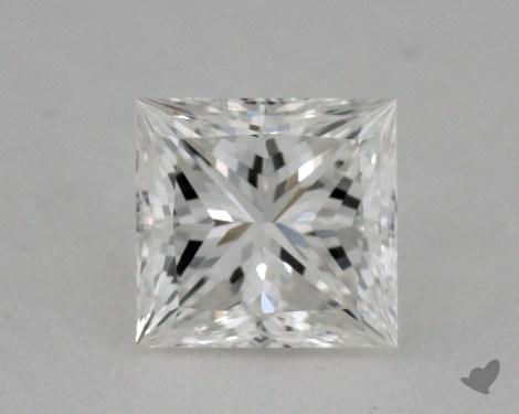 0.51 Carat G-SI1 Ideal Cut Princess Diamond