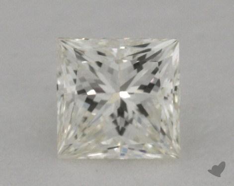 0.51 Carat K-SI1 Ideal Cut Princess Diamond