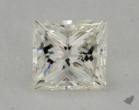 0.82 Carat K-IF Princess Cut Diamond