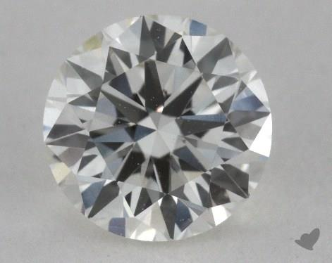 0.50 Carat J-VVS2 Very Good Cut Round Diamond