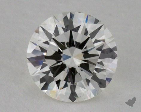 0.93 Carat I-SI1 Excellent Cut Round Diamond