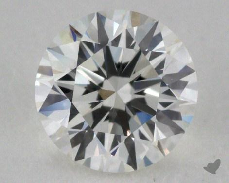 0.71 Carat G-VVS2 Very Good Cut Round Diamond