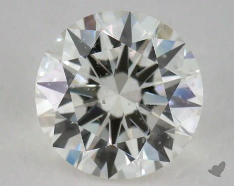 1.32 Carat I-SI2 Ideal Cut Round Diamond