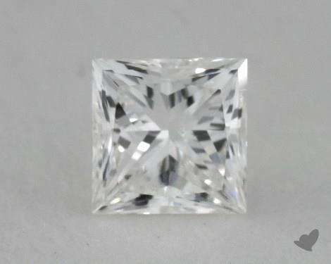 0.51 Carat E-SI2 Ideal Cut Princess Diamond