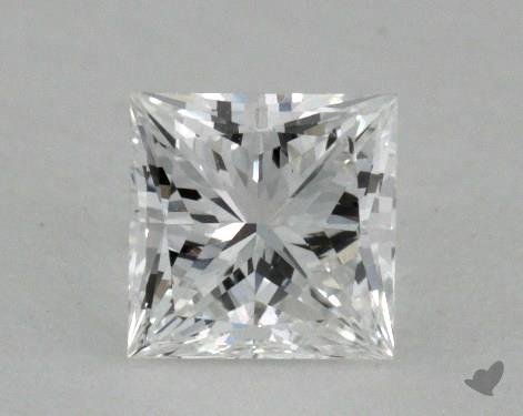 0.50 Carat F-VS2 Very Good Cut Princess Diamond