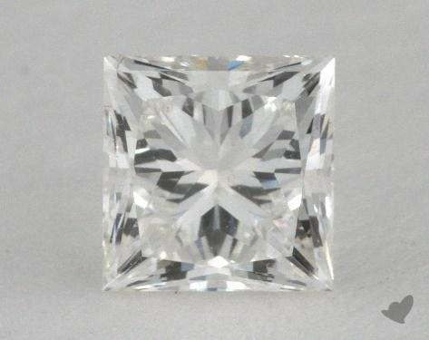 0.52 Carat H-SI1 Ideal Cut Princess Diamond