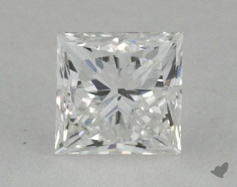 0.54 Carat H-SI1 Very Good Cut Princess Diamond