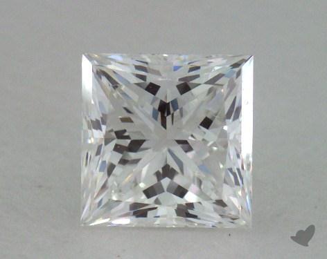 0.73 Carat F-VS1 Ideal Cut Princess Diamond
