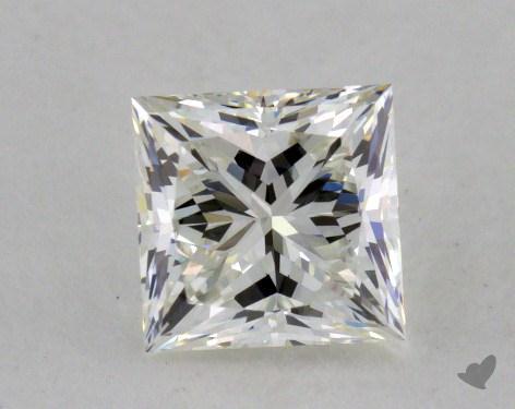 0.74 Carat H-VVS1 Very Good Cut Princess Diamond