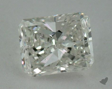 1.01 Carat H-SI2 Radiant Cut Diamond
