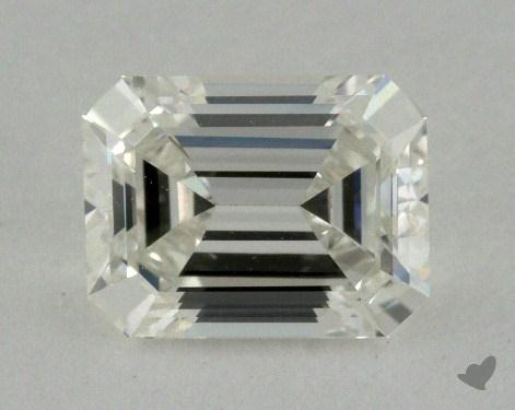 0.76 Carat I-VVS1 Emerald Cut Diamond