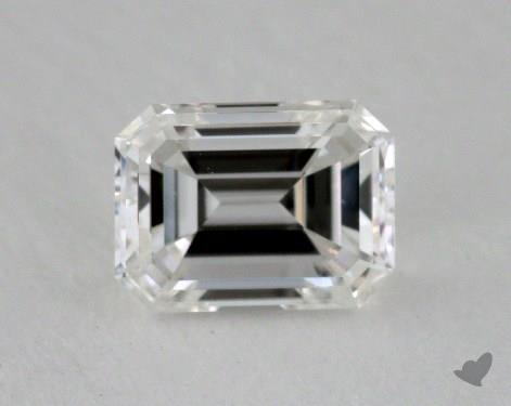 0.51 Carat H-VS1 Emerald Cut Diamond