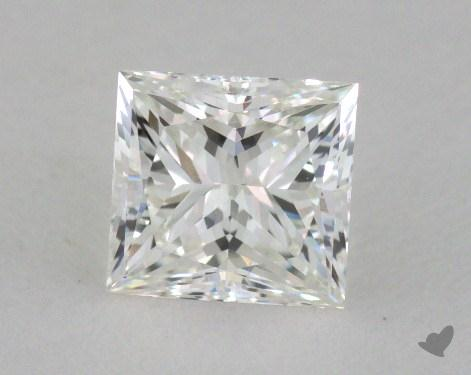 0.74 Carat G-VS1 Princess Cut Diamond