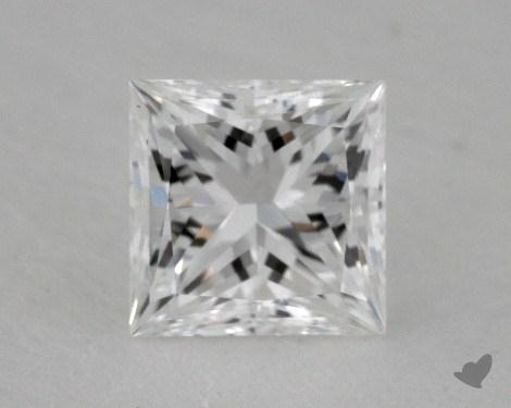 0.55 Carat F-VVS1 Ideal Cut Princess Diamond