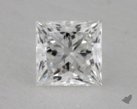 0.52 Carat F-VVS2 Princess Cut  Diamond