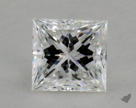 1.05 Carat E-VS1 Ideal Cut Princess Diamond