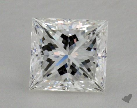 1.06 Carat E-VS2 Ideal Cut Princess Diamond