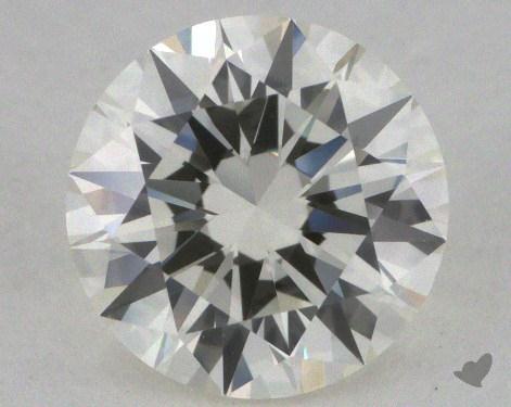 1.07 Carat J-VVS1 Excellent Cut Round Diamond
