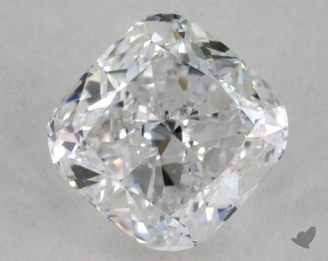 0.50 Carat D-VVS1 Cushion Cut Diamond