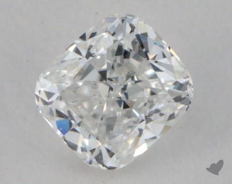 0.58 Carat E-VVS1 Cushion Cut Diamond