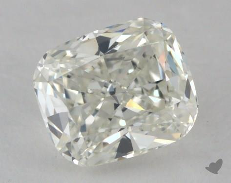 0.62 Carat I-IF Cushion Cut Diamond