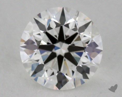 1.04 Carat F-VS2 Excellent Cut Round Diamond