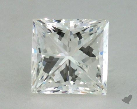 1.45 Carat G-VS2 Very Good Cut Princess Diamond