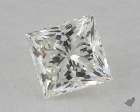 0.56 Carat I-SI2 Very Good Cut Princess Diamond