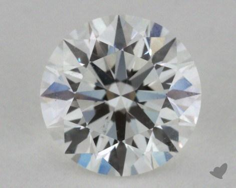 0.81 Carat F-SI1 Excellent Cut Round Diamond